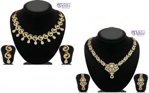 Buy 1 get 1 free on Sukkhi glimmery necklace set