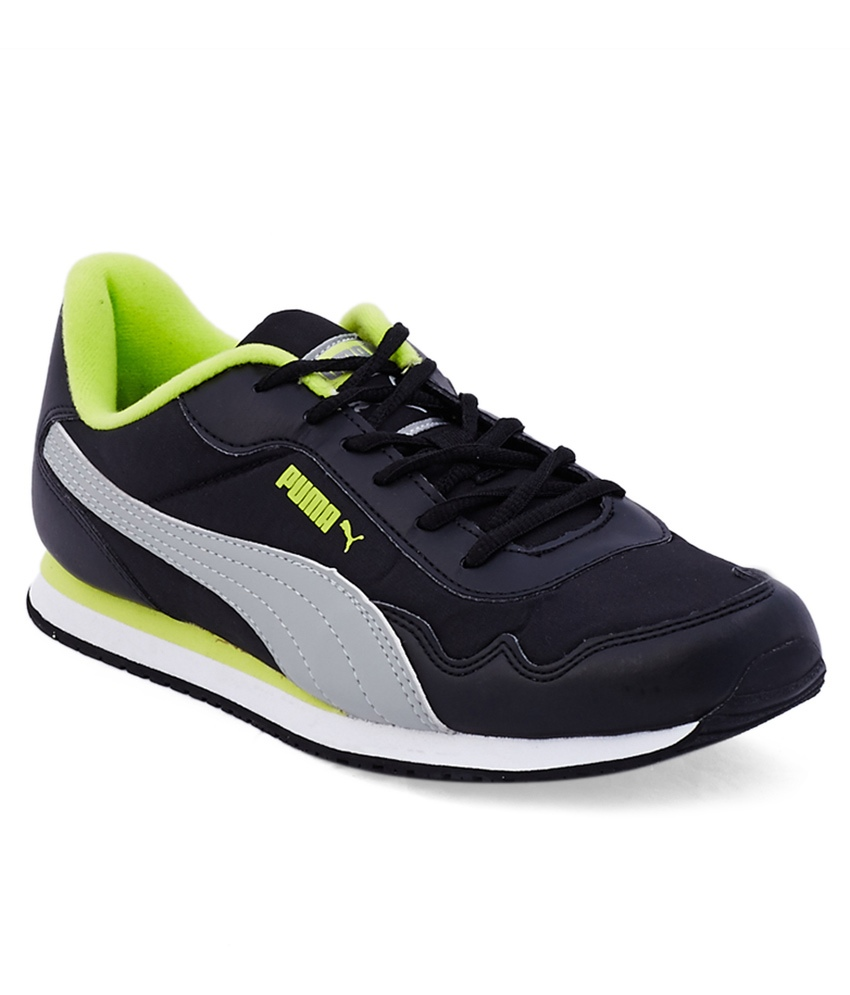 Puma Black Smart Casual Shoes at Rs.1449