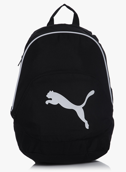Puma black backpack at Rs.840