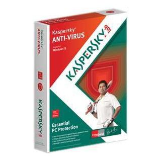 Kaspersky Antivirus 2013 at Rs. 322